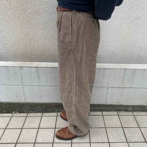 Beige corduroy pants【used】