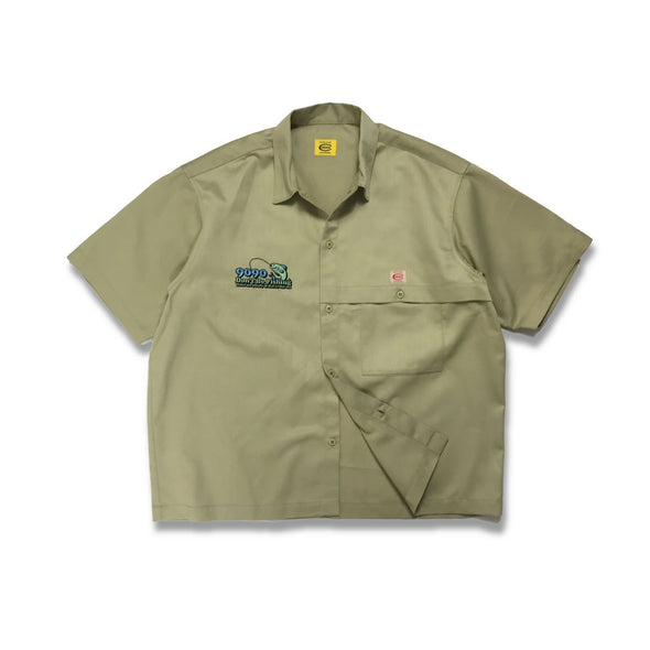 [3/16(火)21:00-]COWDEN × 9090 × FREAK'S STORE Fishing Shirts(ベージュ)【original】