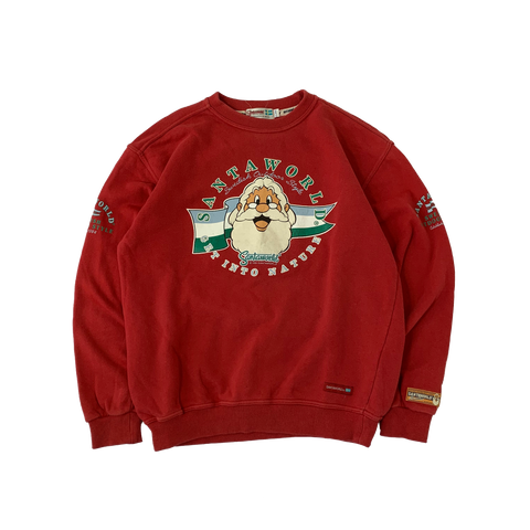 SANTAWORLD Red sweat【used】