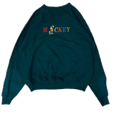 Mickey green sweat【used 】