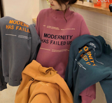 Modernity print sweat 【select】