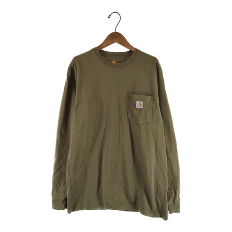 Carhartt khaki long T【used】
