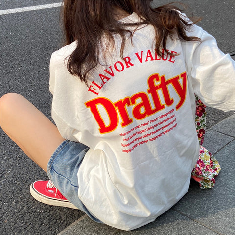 Drafty big logo T【select】