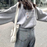 Square back sweat【select】