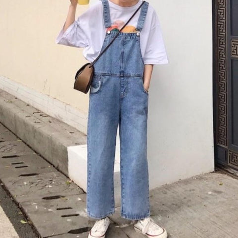 Denim overall【select】