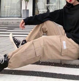 Wide cargo pants【select】