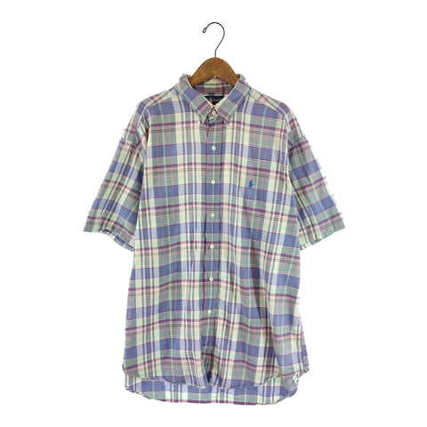 Ralph check shirt【used】