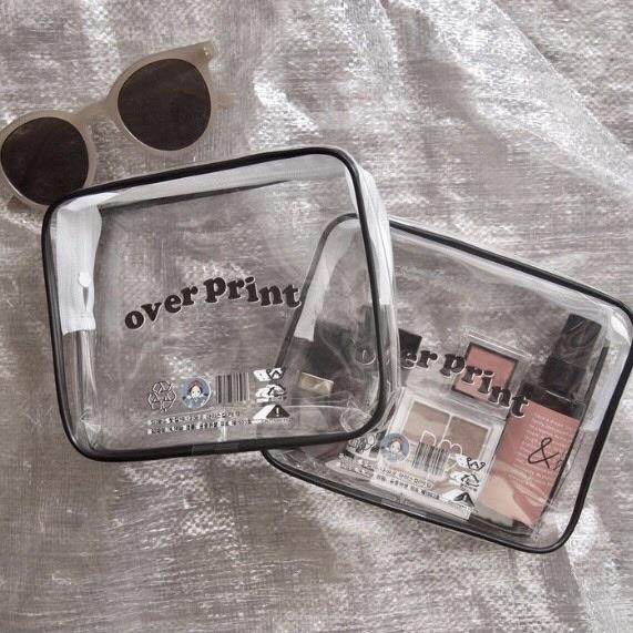Clear Multi pouch(clear)【original】