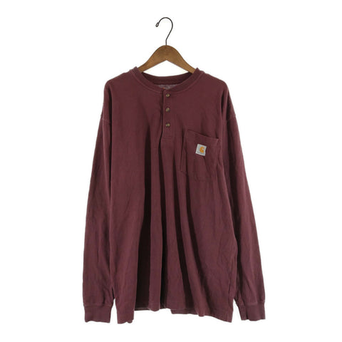 Carhartt Burgundy long T【used】