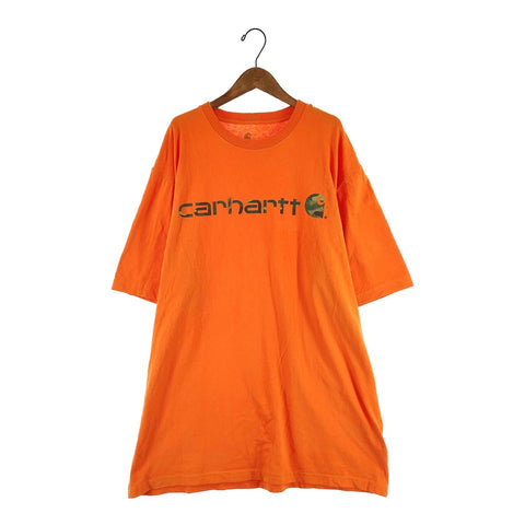 Carhartt orange logo T【used】