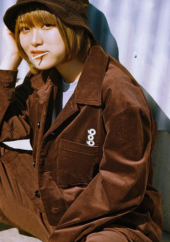[1/11(月)21:00-]9090 Original Corduroy Jacket(ブラウン)【original】