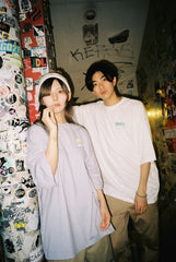 [8/29(Sat)21:00- ]9090 × マツモト Skater Girl T blue(white)【original】
