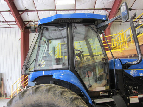 Tractor Guard Door and Side Window New Holland