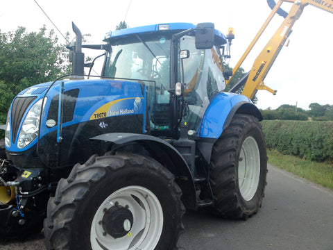 Tractor Guard New Holland Panoramic Door and Bonnet Guard