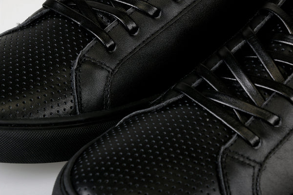 SW MICRO LOW - Perforated (Black)