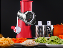Load image into Gallery viewer, Vegetable Cutter Round Mandoline Slicer Potato Julienne Carrot Grater Cheese