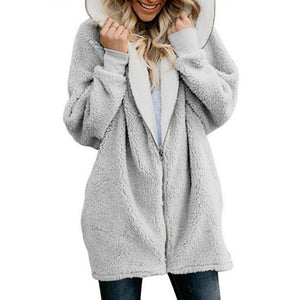 Lamb hooded sweater