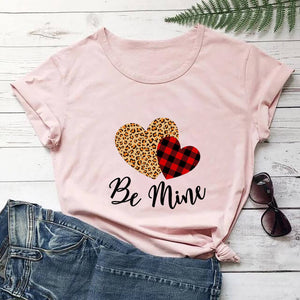 Leopard Print Love Valentine's Day New T-Shirt