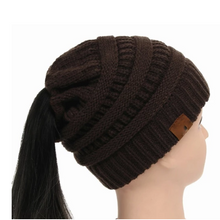 Load image into Gallery viewer, Women's Girl Stretch Knit Hat