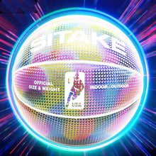Load image into Gallery viewer, Glowing Luminous Fluorescent Basketball Night Game Basketball