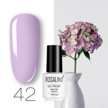 Load image into Gallery viewer, ROSALIND Gel Nail Polish Hybrid Varnishes All For Manicure Nails Art Semi Permanent UV Led Gel Polish Nail Design Base Top Coat