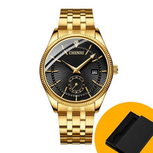 Charger l'image dans la galerie, CHENXI Gold Wrist Watch Men Watches Lady Top Brand Luxury Quartz Wristwatch For Lover's Fashion Dress Clock Relogio Masculino