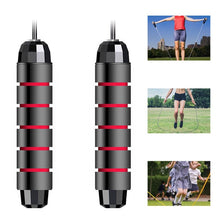 Charger l'image dans la galerie, Tangle-Free with Ball Bearings Rapid Speed Jump Rope Crossfit Excercise and Fitness Workout Equipments Skipping Foot Unisex Kids