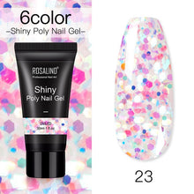 Load image into Gallery viewer, ROSALIND Poly Gel For Nails Extension Finger nail art Manicure Acryl gel Varnish hybrid 30ML Poly UV Gel Polish Extension