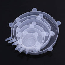 Charger l'image dans la galerie, WORTHBUY 12 Pcs/Set Silicone Food Cover Cap Universal Silicone Lids For Cookware Reusable Stretch Lids Kitchen Accessories