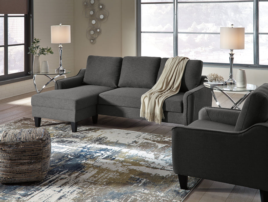Sofa Chaise Sleeper, Gray