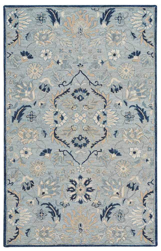 Avanti-Eleanor Ice Blue Hand Tufted Rugs