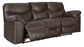 Reclining Sofa Group, Teak