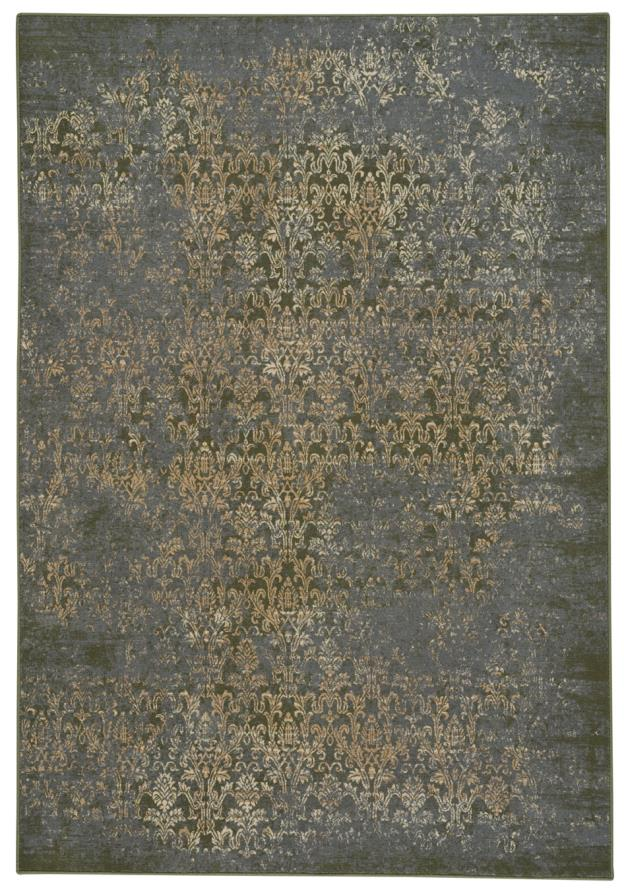 Metropolis-Victoria Woodland Green Machine Woven Rugs