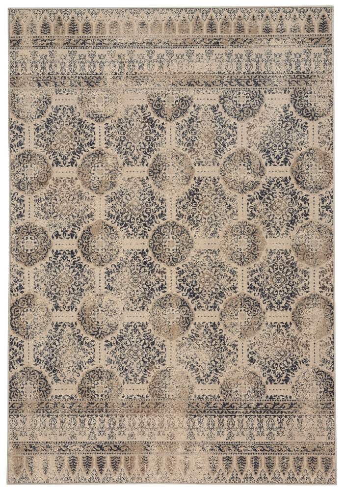 Metropolis-Carthage Smoky Blue Machine Woven Rugs