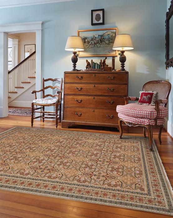 Tribute-Parlor Cream Agate Machine Woven Rugs