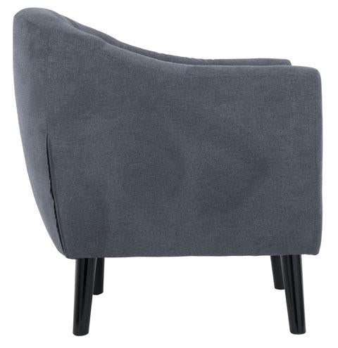 Accent Chair, Denim