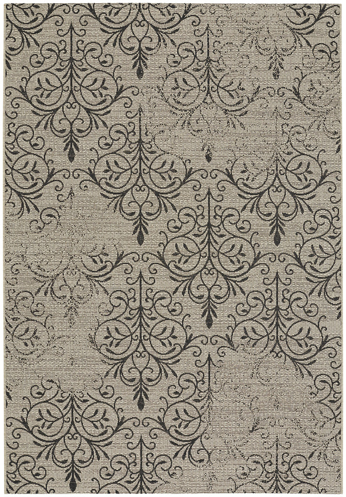 Finesse-Heirloom Noir Machine Woven Rugs