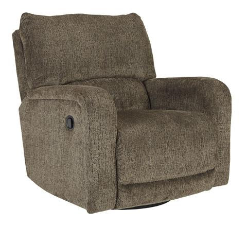 Swivel Glider Recliner, Umber