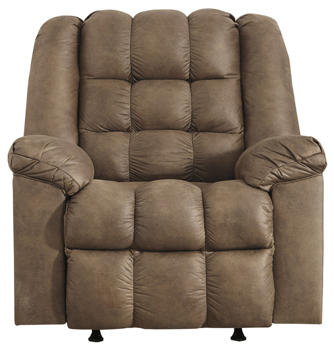 Rocker Recliner w/Heat & Massage, Bark