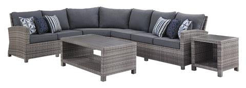 Outdoor Sectional, Gray