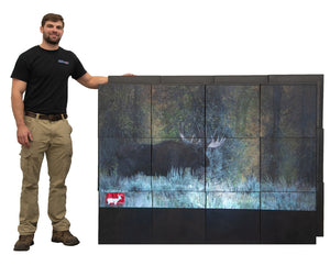 Personal Archery Video Wall