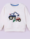 Custom Cartoon Print Sweatshirt