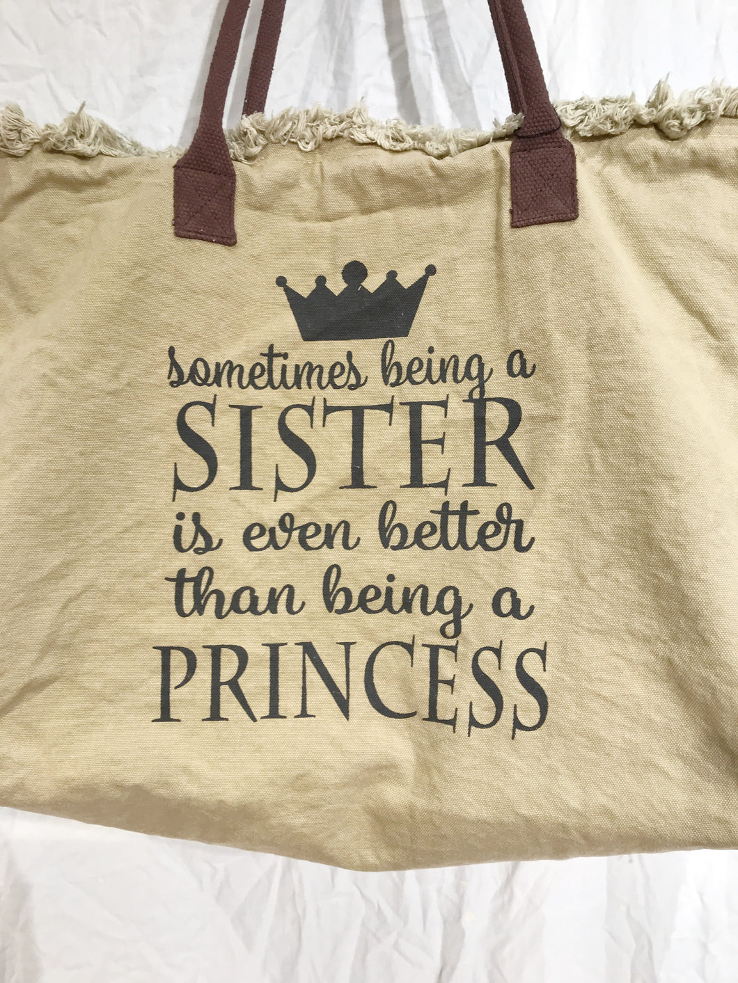 Sister Canvas Bag