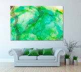 Abstract Geode Painting