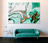 Abstract Marble Painting