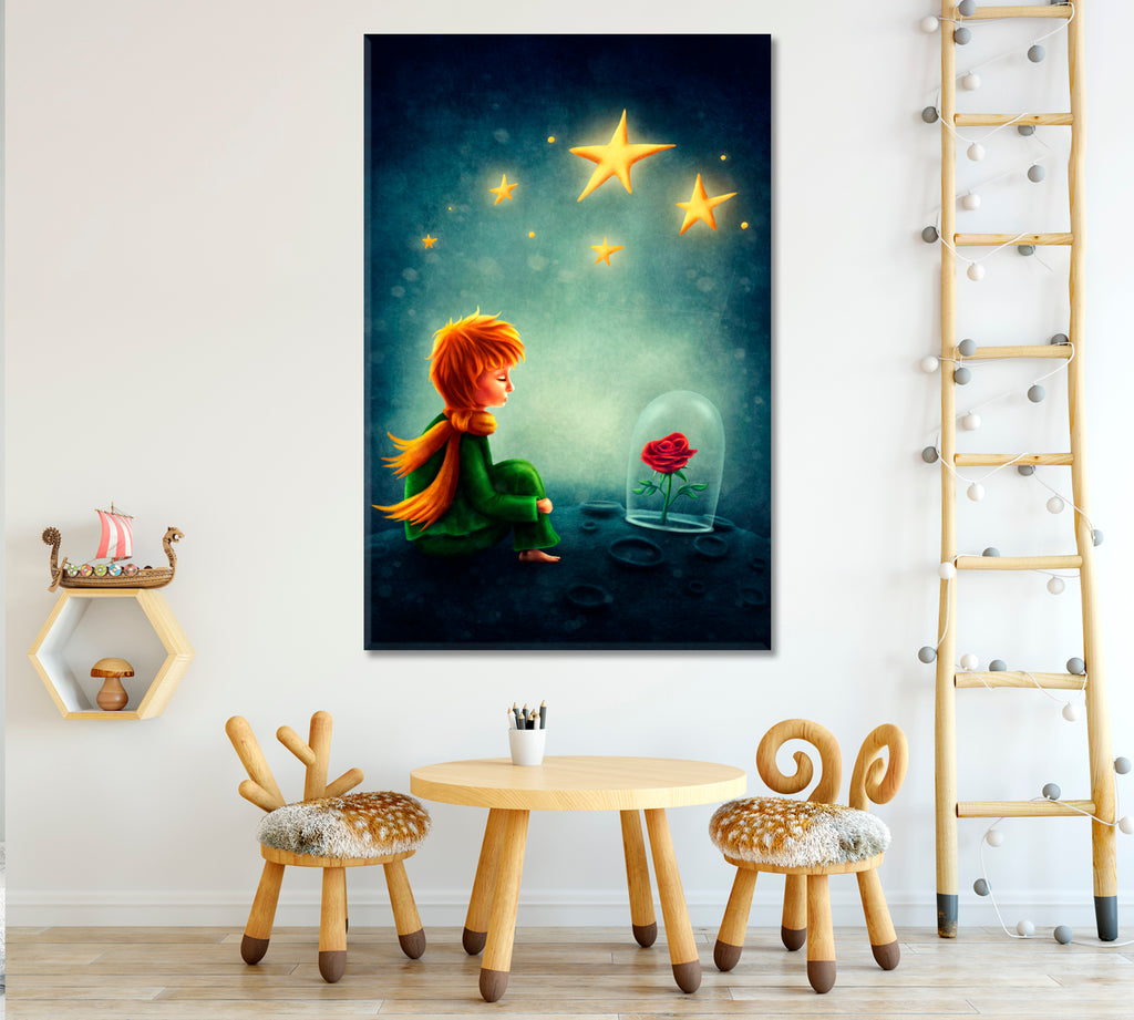 Little Prince and Rose