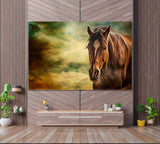 Beautiful Art Portrait of Horse