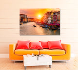 Sunset over Grand Canal Venice