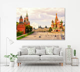 Kremlin and St Basil's Cathedral Moscow