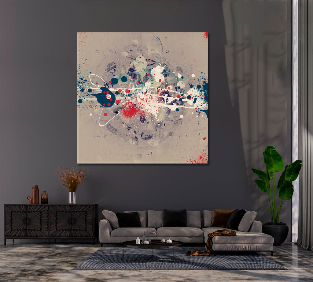 Abstract Paint Splashes